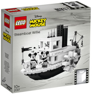 LEGO 21317 LEGO Ideas – Steamboat Willie