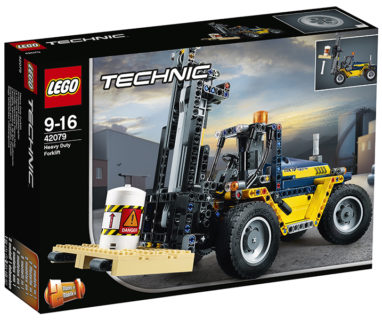 LEGO 42079 Technic – Carrello elevatore Heavy Duty
