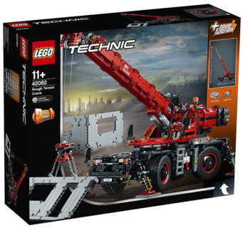 LEGO 42082 Technic – Grande gru mobile