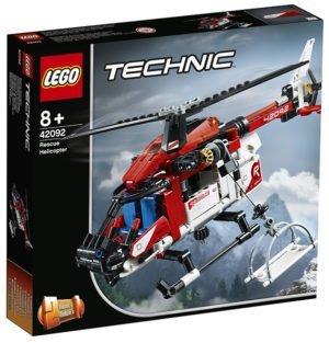 Lego 42092 Elicottero Salvataggio Technic 325 pz