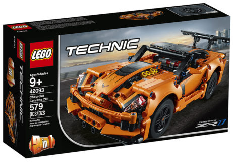 Lego 42093 Corvette ZR1 Technic 579 pz