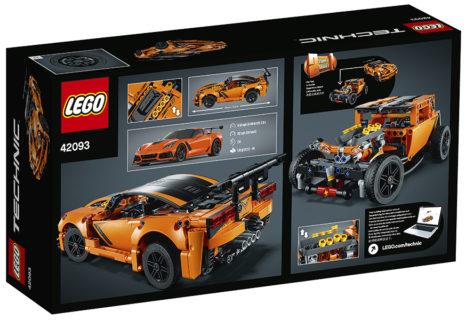 Lego 42093 Corvette ZR1 Technic 579 pz