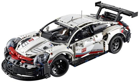 Lego 42096 Porsche 911 RSR Technic 1580 pz