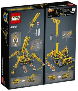 Lego 42097 Gru Cingolata Compatta Technic 920