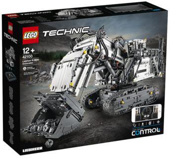 Lego 42100 Escavatore Liebherr Technic 4108 pz.
