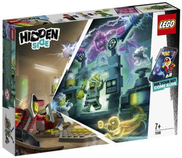 Lego 70418 Laboratorio Spettrale Hidden Side
