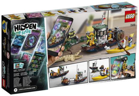 Lego 70419 Il Peschereccio Naufragato Hidden Side
