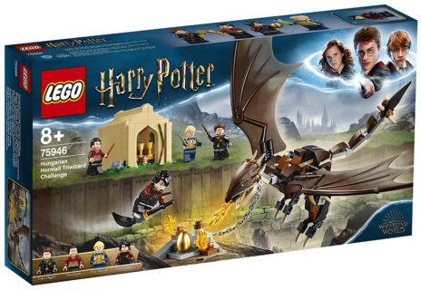 LEGO 75946 Harry Potter – La sfida dell'Ungaro Spinato al Torneo Tremaghi