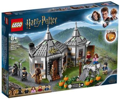 LEGO 75947 Harry Potter – La Capanna di Hagrid: il salvataggio di Fierobecco