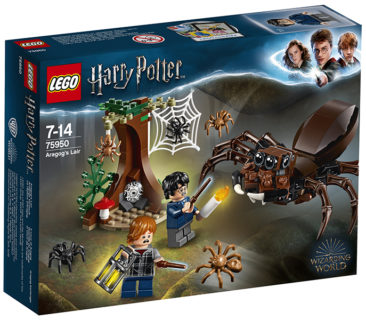 LEGO 75950 Harry Potter – Il covo di Aragog