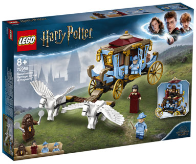 LEGO 75958 Harry Potter – La Carrozza di Beauxbatons: arrivo a Hogwarts