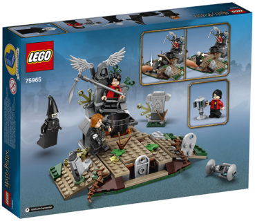 LEGO 75965 Harry Potter – L'ascesa di Voldemort