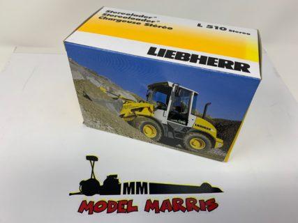 "Pala LIEBHERR L510 stereo ""MAX WILDE"" – NZG 542/09 –  1/50"