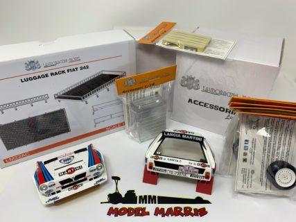 Set Portapacchi Bagagliera Fiat 242 – Lancia Delta S4 1986 1:18