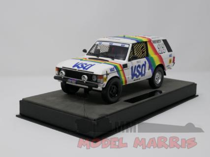 TOPMARQUES – LAND ROVER – RANGE N 212 VSD WINNER RALLY PARIS DAKAR 1981 R.METGE – B.GIROUX