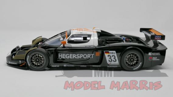 AUTOART – MASERATI – MC12 TEAM HEGERSPORT N 33 FIA GT1 SEASON 2010 A.HEGER – A.MULLER