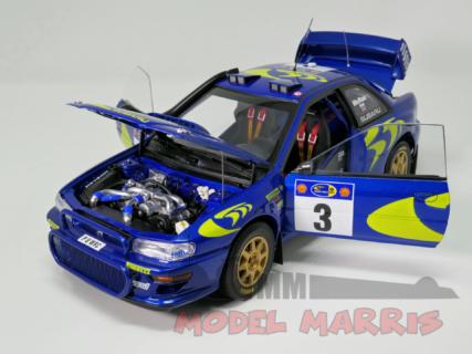 AUTOART – SUBARU – IMPREZA WRC N 3 WINNER RALLY SAFARI 1997 COLIN MCRAE – NICKY GRIST