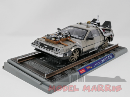 SUN-STAR – DE LOREAN – TIME MACHINE – (RAILWAY) BACK TO THE FUTURE 3 – (SU FERROVIA) RITORNO AL FUTURO 3