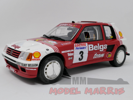 OTTO-MOBILE – PEUGEOT – 205 T16 Gr.B N 3 RALLY YPRES 1985 B.DARNICHE – A.MAHE'