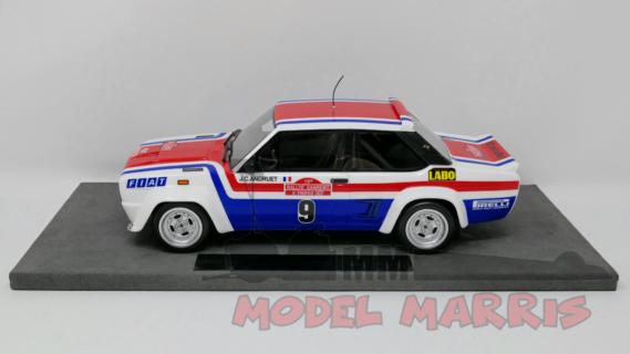 TOPMARQUES – FIAT – 131 ABARTH N 9 WINNER RALLY SANREMO 1977 J.C.ANDRUET – C.DELFERRIER