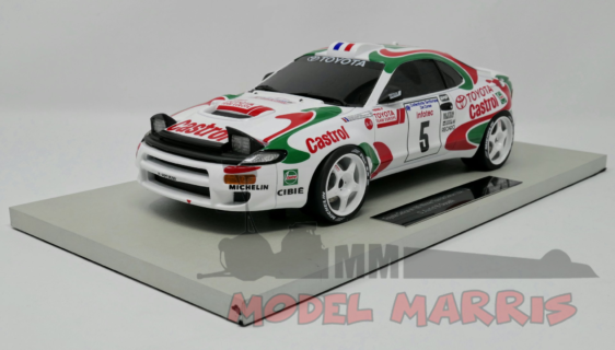 TOPMARQUES – TOYOTA – CELICA GT4 (ST185) N 5 WINNER RALLY TOUR DE CORSE 1994 DIDIER AURIOL – BERNARD OCCELLI