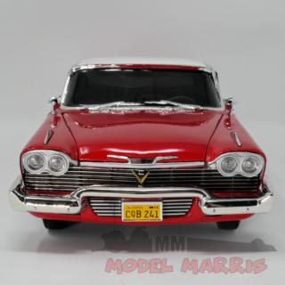 AUTOWORLD – PLYMOUTH – FURY COUPE 1958 DIRTY VERSION – CHRISTINE LA MACCHINA INFERNALE