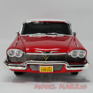 AUTOWORLD – PLYMOUTH – FURY COUPE 1958 DIRTY VERSION – CHRISTINE LA MACCHINA INFERNALE