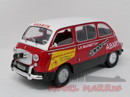 MINIMINIERA – FIAT – 600 MULTIPLA – MARMITTE ABARTH limited edition