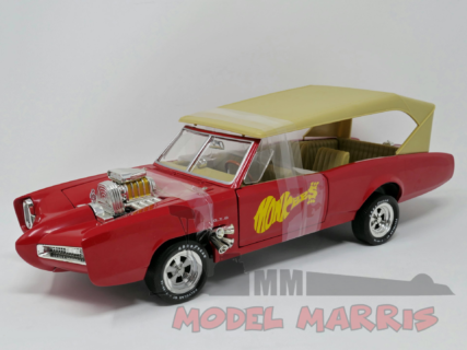 ERTL – PONTIAC – GTO CONVERTIBLE MONKEEMOBILE – THE MONKEES 1966