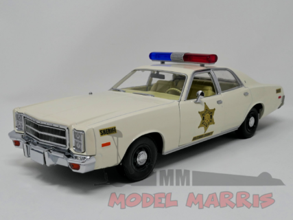 GREENLIGHT – PLYMOUTH – FURY HAZZARD POLICE ROSCO PATROL CAR 1977