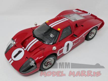 ACME-MODELS – FORD USA – GT40 MKIV 7.0L V8 TEAM SHELBY AMERICAN INC. N 1 WINNER 24h LE MANS 1967 A.J.FOYT – D.GURNEY