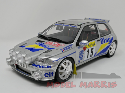 OTTO-MOBILE – RENAULT – RALLY SET MONTECARLO – MASTER VAN + TRAILER + CLIO MAXI DIAC NIGHT VERSION N 15 RALLY MONTECARLO 1995