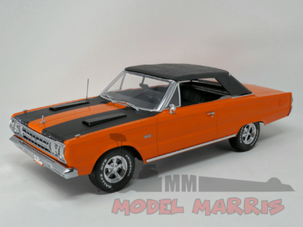 GREENLIGHT – PLYMOUTH – BELVEDERE GTX CONVERTIBLE 1967 – JOE DIRT MOVIE