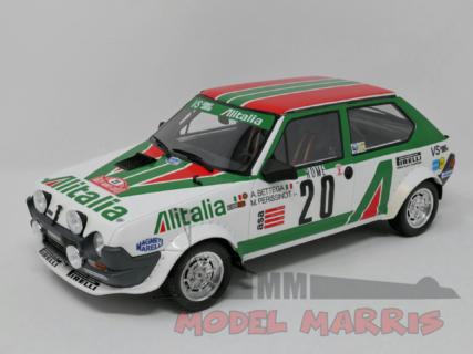 OTTO-MOBILE – FIAT – RITMO ABARTH 75 ALITALIA N 20 RALLY MONTECARLO 1979 A.BETTEGA – M.PERISSINOT