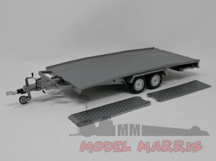 LAUDORACING – ACCESSORIES – ELLEBI – CARRELLO TRASPORTO AUTO – CAR TRANSPORTER TRAILER – 600pz