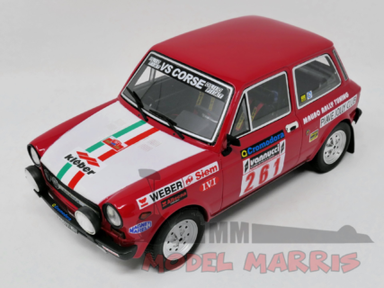 LAUDORACING – AUTOBIANCHI – A112 ABARTH N 261 RALLY ISOLA D'ELBA 1978 150 pz