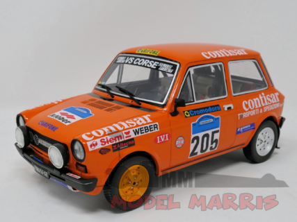 LAUDORACING – AUTOBIANCHI – A112 ABARTH N 205 RALLY COLLINE DEI ROMAGNA 1978 150 pz