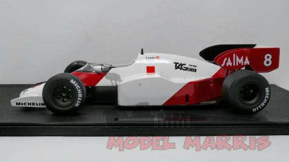 GP-REPLICAS – McLAREN – F1 MP4/2 TAG N 8 NIKI LAUDA 1984 WORLD CHAMPION – 500 PZ –