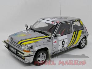 NOREV – RENAULT – R5 SUPERCINQUE GT TURBO N 9 RALLY COSTA D'AVORIO 1989 A.OREILLE – G.THIMONIER