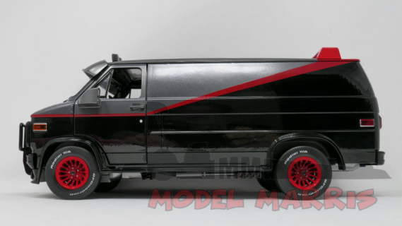 GREENLIGHT – GMC – VANDURA CARGO G.SERIES VAN – A-TEAM – 1983