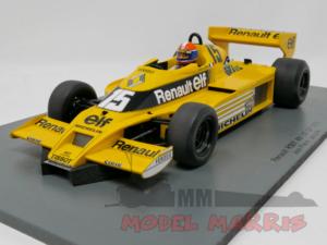 SPARK-MODEL – RENAULT – F1 RS01/1 N 15 USA GP 1978 J.P.JABOUILLE