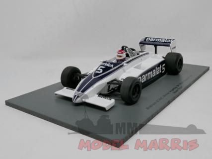 SPARK-MODEL – BRABHAM – F1 BT49C N 5 WINNER ARGENTINE GP 1981 N. PIQUET WORLD CHAMPION