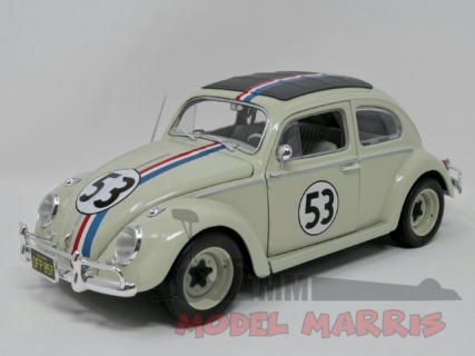 MATTEL HOT WHEELS – VOLKSWAGEN – BEETLE HERBIE THE LOVE BUG N 53 RALLY MONTECARLO 1962