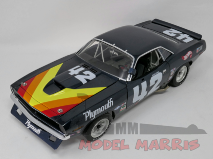 ACME-MODELS – PLYMOUTH – BARRACUDA N 42 TRANS-AM 1970 Dan Gurney Swede Savage