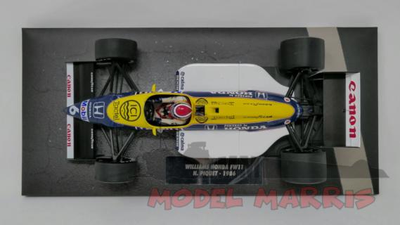 MINICHAMPS – WILLIAMS – F1 FW11 HONDA N 6 SEASON 1986 N.PIQUET