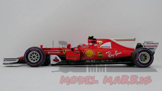 BBR-MODELS – FERRARI – F1 SF70H N 7 4th AUSTRALIAN GP 2017 KIMI RAIKKONEN