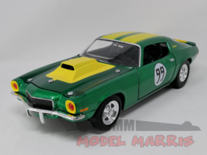 JOHNNY LIGHTNING – CHEVROLET – CAMARO 350 COUPE N 99 RACING HAZZARD – MECHANIC COOTER'S CAR – COOTER MECCANICO