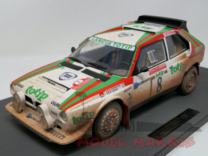 TOPMARQUES – LANCIA – DELTA S4 TOTIP N 8 2nd RALLY SANREMO 1986 CERRATO – CERRI – DIRTY VERSION – 100 pz