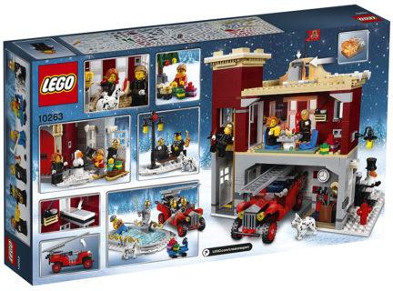 LEGO 10263 Creator Expert – Caserma dei pompieri del villaggio invernale
