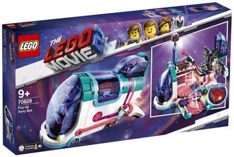 LEGO 70828 LEGO Movie 2 – Il party bus Pop-Up